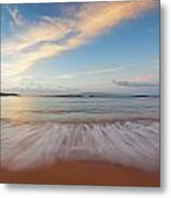 Sunrise At Cove Park Metal Print
