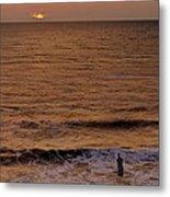 Sunrise At Jacksonville Metal Print by Joe Bonita