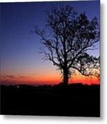 Sunrise At Little Elk Creek Road Metal Print