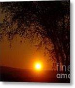 Sunrise At Maryhille  Metal Print