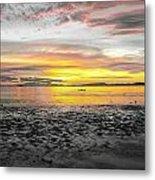 Sunrise At Sea 2 Metal Print