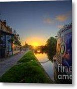 Sunrise At The Boat Inn Metal Print