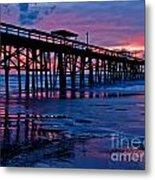 Sunrise At The Pier 2 Metal Print