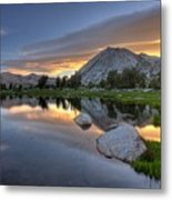 Sunrise At Upper Young Lake Metal Print by by Sathish Jothikumar