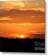 Sunrise August 1 2012 Metal Print