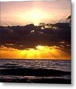 Sunrise Obx Metal Print