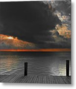 Sunrise On Key Islamorada Metal Print