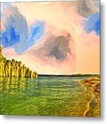 Sunrise On Lake Powell Metal Print