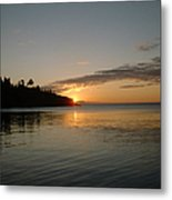 Sunrise On Superior Metal Print