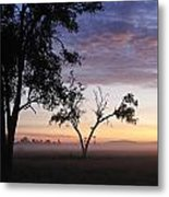 Sunrise On The Masai Mara Metal Print