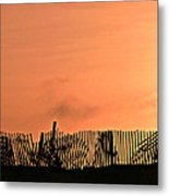 Sunrise On The Outer Banks Metal Print