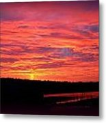 Sunrise Over Miller Bay Metal Print