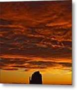 Sunrise Over Monument Valley, Arizona Metal Print