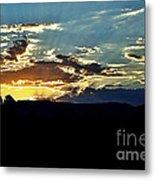 Sunrise Over Sedona Az Metal Print
