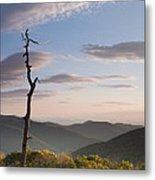 Sunrise Over Shenandoah National Park  Metal Print