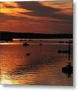 Sunrise Over Southwest Harbor Metal Print