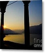Sunrise Over The Mountains Metal Print