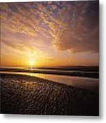 Sunrise, Sandymount Strand Dun Metal Print