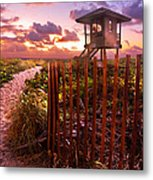 Sunrise Sentinel Metal Print