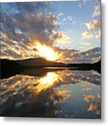 Sunrise Solice Metal Print