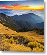 Sunset , Hehuan Mountain , Taroko National Park , Metal Print