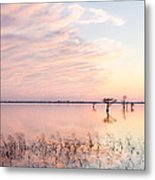 Sunset - Pretty In Pink Metal Print