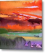 Sunset 04 Metal Print