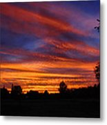 Sunset 2   09 22 12 Metal Print