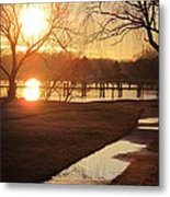 Sunset After The Rain Metal Print