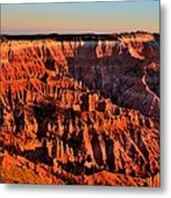 Sunset At Cedar Breaks Metal Print
