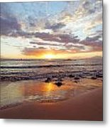 Sunset At Cove Park Metal Print