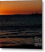 Sunset At Freemantle Metal Print