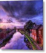 Sunset At Loughborough Metal Print