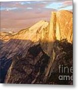 Sunset At The Dome Metal Print