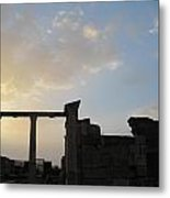 Sunset At The Tomb Of St. John Metal Print