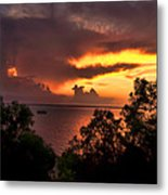 Sunset At The Top-end Metal Print