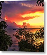 Sunset At The Top-end V2 Metal Print