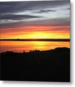 Sunset Bar Harbor Maine Metal Print