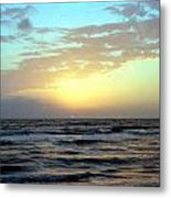 Sunset Blues Metal Print