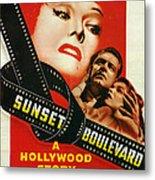 Sunset Boulevard Metal Print