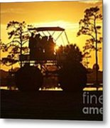 Sunset Buggy Metal Print by Lynda Dawson-Youngclaus