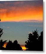 Sunset Charlestown In July Metal Print