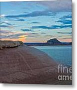 Sunset Cliff Metal Print