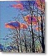 Sunset Cloud Colors 10 Metal Print