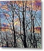 Sunset Cloud Colors 5 Metal Print