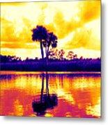 Sunset Colour Metal Print