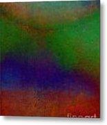 Sunset Earthi Metal Print