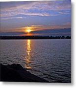 Sunset Egg Harbor Metal Print