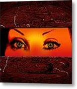 Sunset Eyes Metal Print