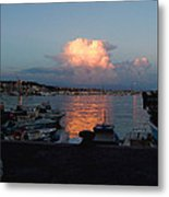 Sunset From Anzio Metal Print